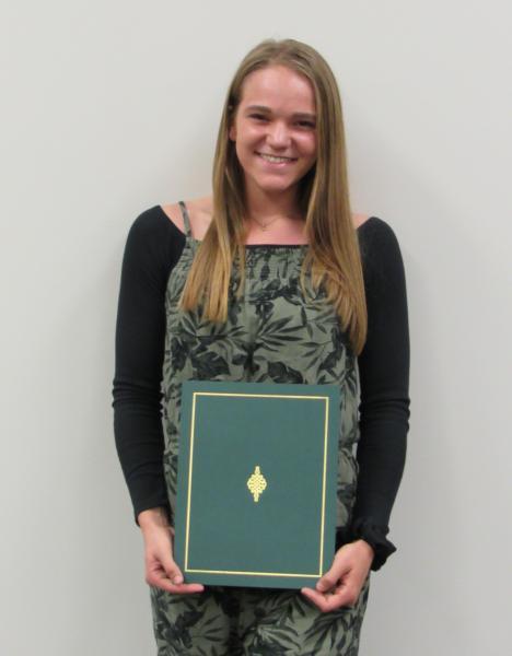 Honored recipient ALYSSA RAY of Eastwood Local Schools