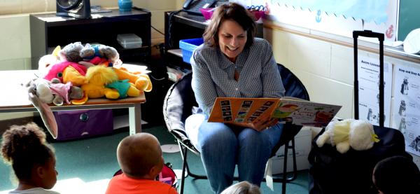 Prevention Education Specialist Jane Lingenfelder