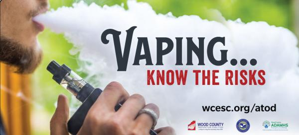 Our vaping awareness billboard for 2018/2019.